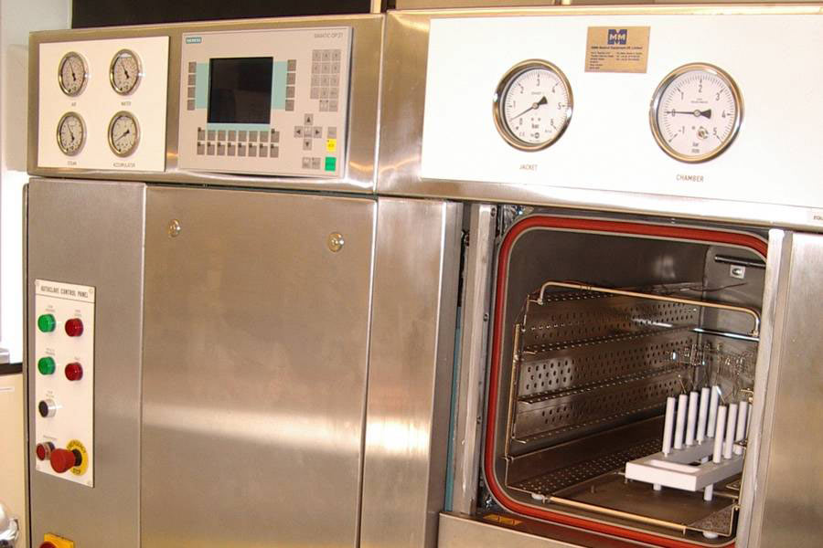 <strong></strong>Temperature Mapping Autoclaves and Sterilizers